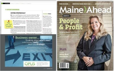 MaineAhead mentions Opus Consulting Group