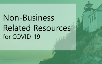 Non-Business Related Resources during the COVID-19 Crisis