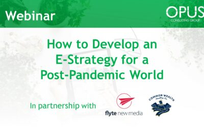 How to Develop an E-Strategy for a Post-Pandemic World